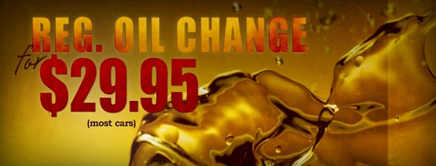 $29.95 Oil Change Special!